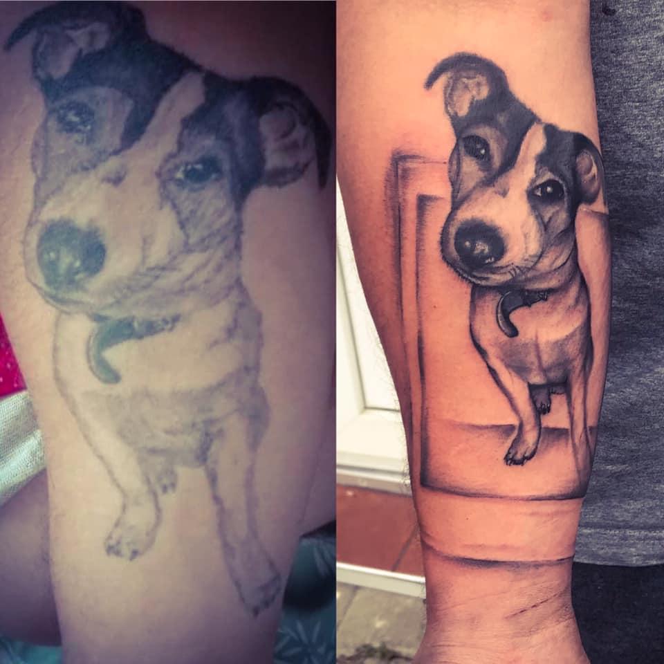 tattoo cover radka gioia