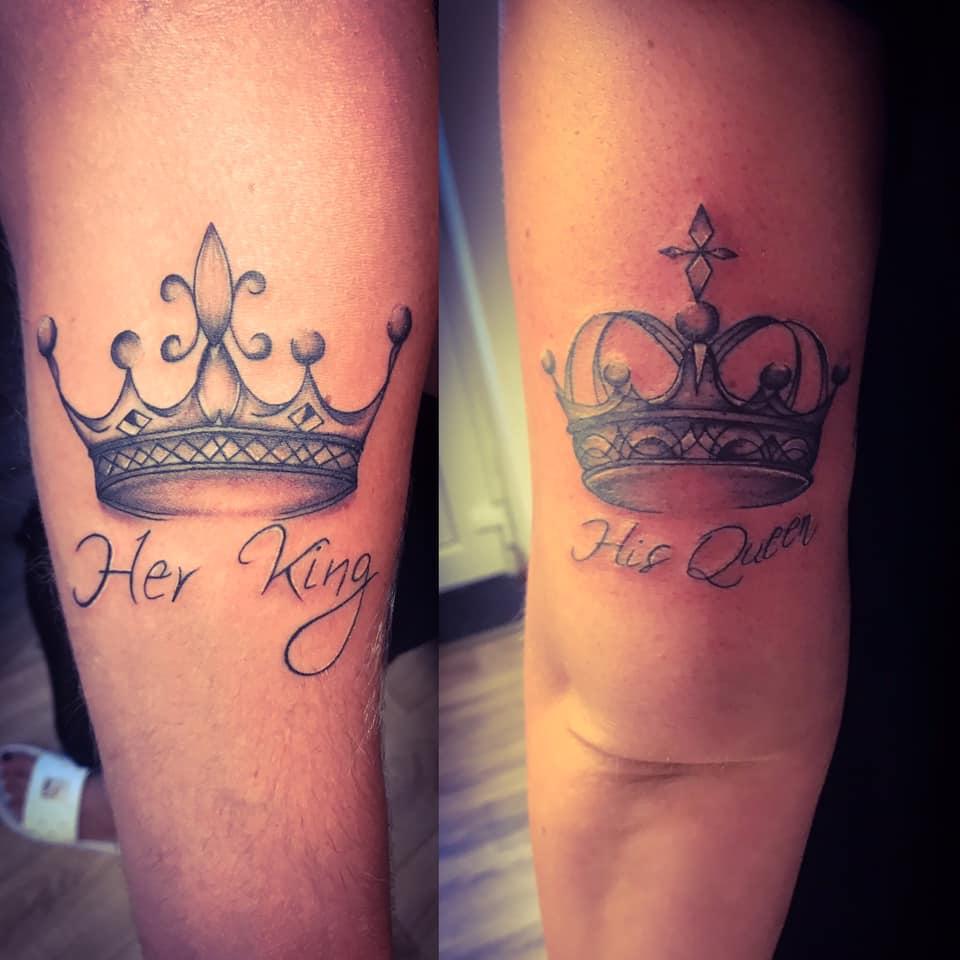tattoo queen king